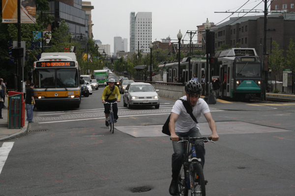 Perhaps more people will bike if T services are cut with a fare increase