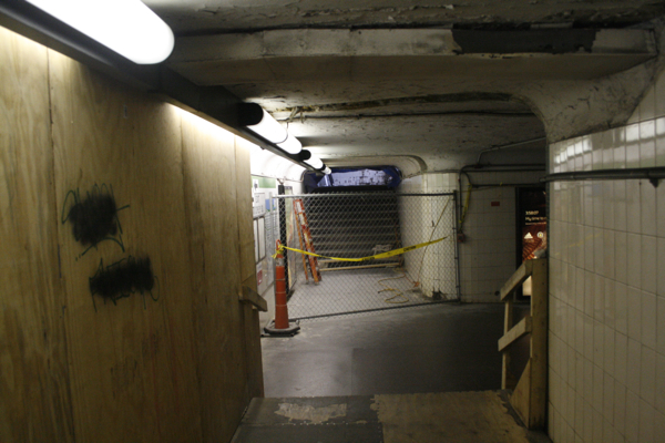 The MBTA has been criticized for its lengthy construction projects such as Copley (pictured above) and Arlington
