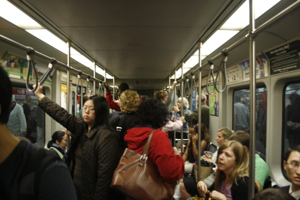 Typical Evening on the Red Line