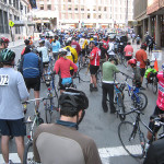 Cyclists Take Over Boston's Streets, if Only For the Weekend