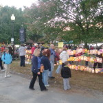 Lantern Parade Lights Up Jamaica Pond