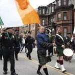 Soggy Saint Patrick's Parade Marches on in the Rain