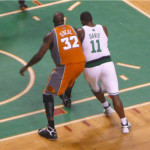 Celtics Shaquille and Davis in it Together Now