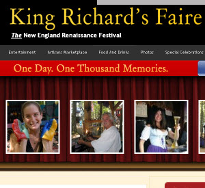King Richard's Faire Website