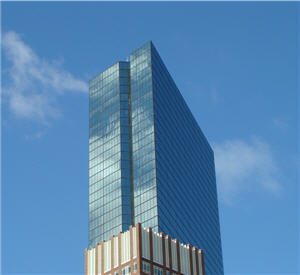John Hancock Tower in Boston