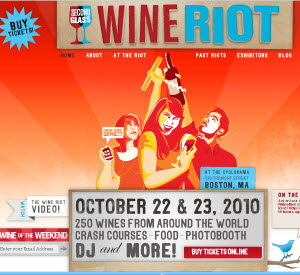 Second Glass Wine Riot 2010