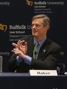 Candidate for Governor Charlie Baker