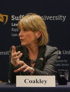 Martha Coakley at Suffolk