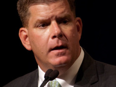 Mayor Walsh Gets Into the Christmas Spirit – Boston Tree Lightings 2014